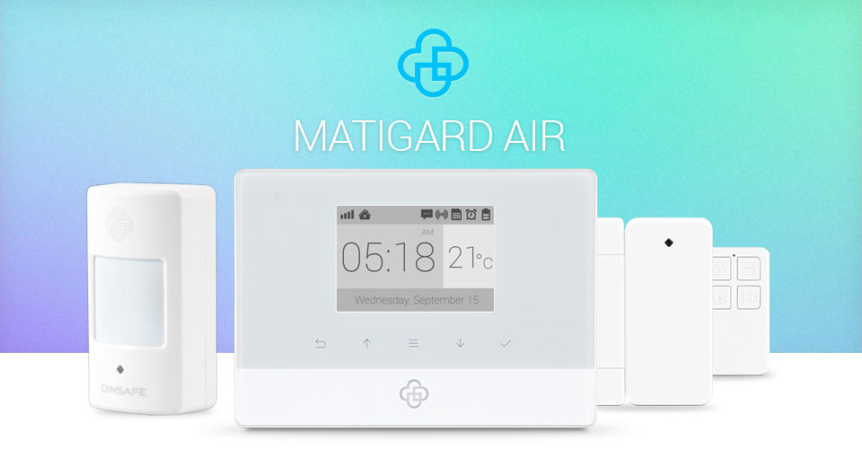 Сигнализация MatiGard Air  цвета