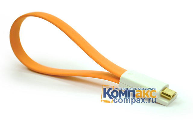 PDA Кабель VOJO Magnet MicroUSB Cable Orange (VMMCO)