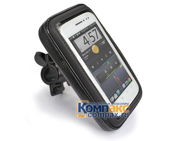 PDA Держатель Bicycle Waterproof Small Case 132x65 мм, на велосипед, скутер (WPSCAR05)